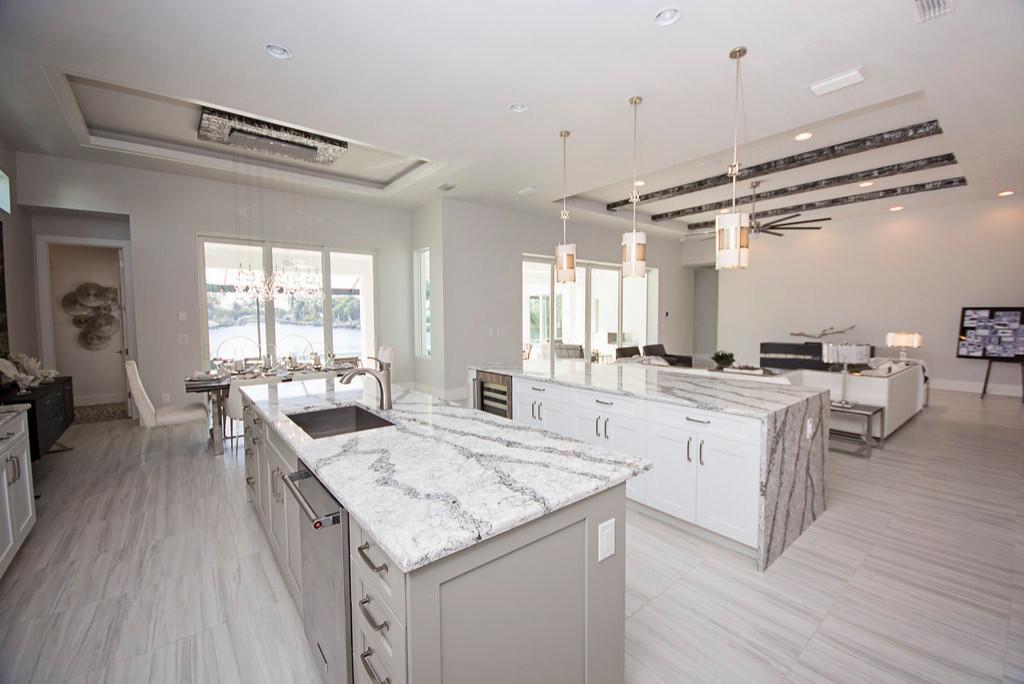 75 Beautiful Modern Marble Floor Kitchen Pictures Ideas July 2021 Houzz