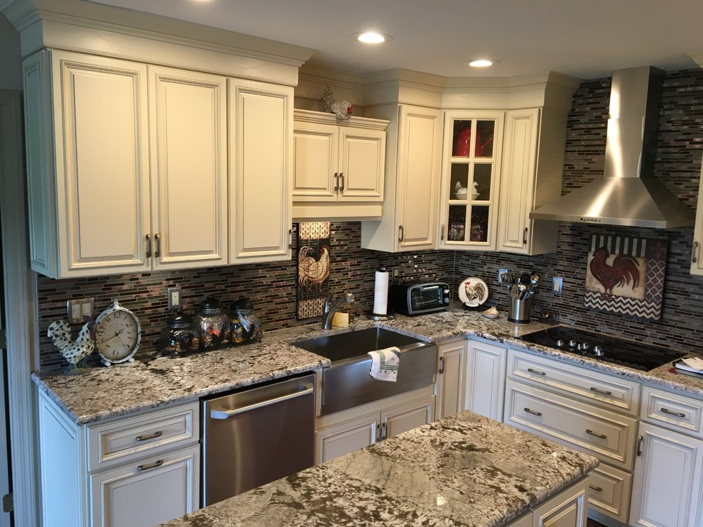 2016 White Kitchen Project - Traditional - Kitchen ...