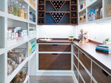 contemporary-kitchen 15 Smart Ideas From Beautifully Organized Pantries Upholstery in London
