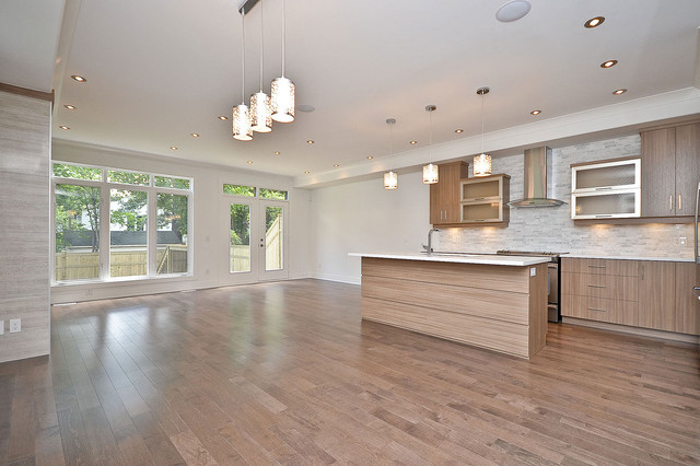209 Carleton Ave Semi-Detached Unit modern kitchen
