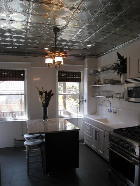 21 Liberty Place eclectic kitchen