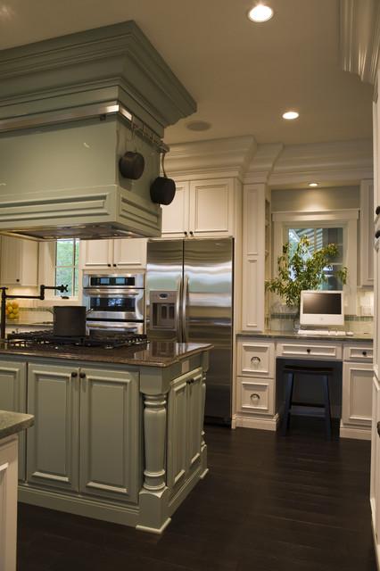 21st Century Bungalow contemporary-kitchen