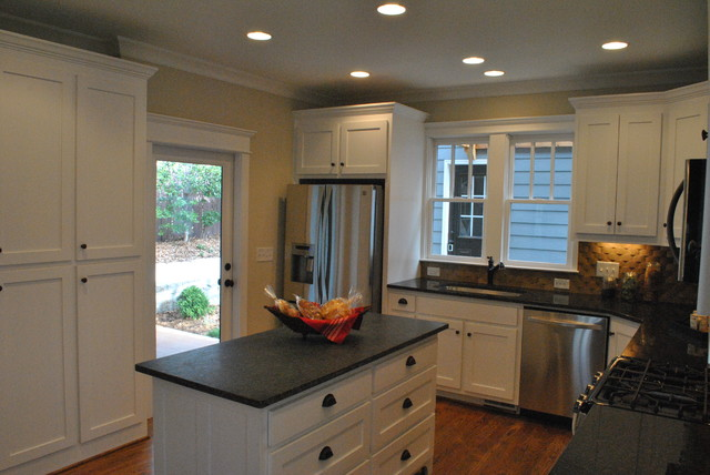 228 Jefferson Place - Whole House Renovation and Addition Decatur, GA (Oakhurst) traditional-kitchen