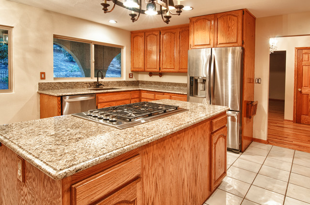 2327 Valle Drive La Habra Heights Ca 90631 Mediterranean Kitchen Orange County By The