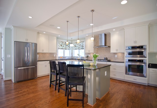 23rd street new construction traditional kitchen dc