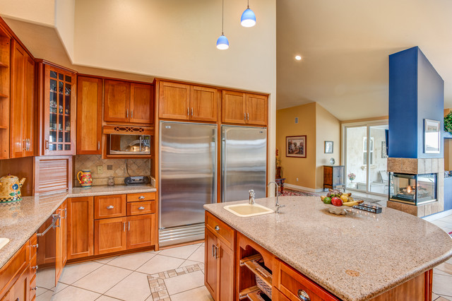 2465 Lupin Hill Road La Habra Heights Ca 90631 Traditional Kitchen Orange County By