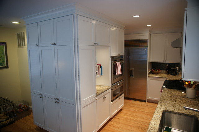 24th Road traditional-kitchen