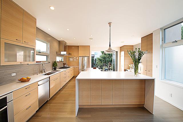 24th Street contemporary-kitchen