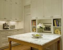285 Central Park West: Kitchen contemporary-kitchen