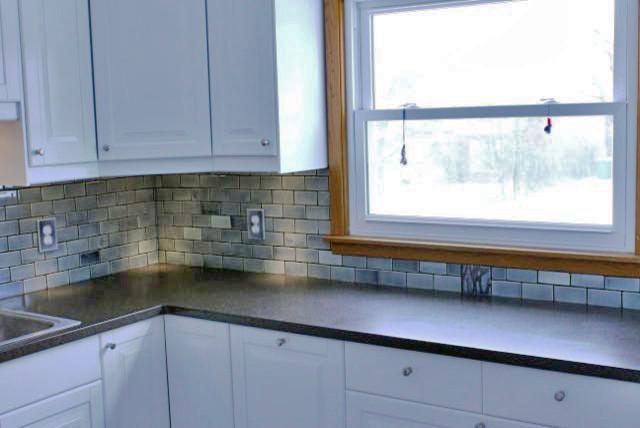 2x4 Subway Tile Backsplash Traditional Kitchen