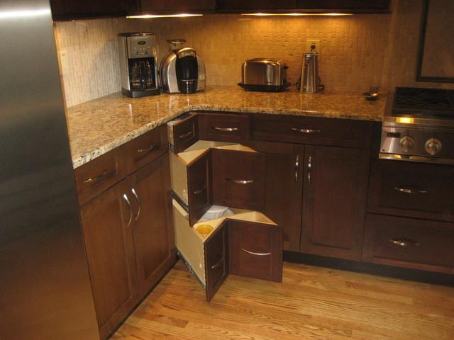 3 Drawer Corner Base Cabinet