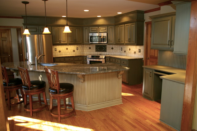 30 Year Old Kitchen Makeover traditional-kitchen