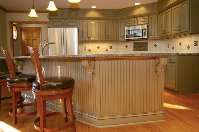 30 Year Old Kitchen Makeover Traditional Kitchen