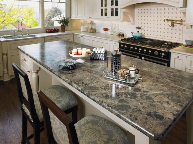 3457 Breccia Paradiso 180fx® with Bullnose IdealEdge™ - Kitchen - cincinnati - by Formica Group
