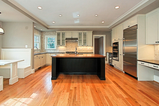 34th St Craftsman Kitchen Dc Metro By Tradition