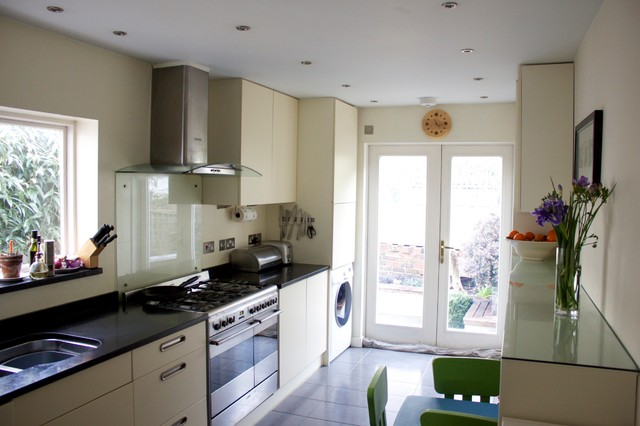 39RR Refurbishment Of Victorian Terraced House Contemporary Kitchen Amazing Pictures