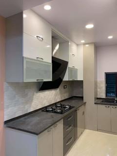 3bhk Flat In Silver Oak Complex In Rajarhat Kolkata Contemporary Kitchen Mumbai By Relation Interior