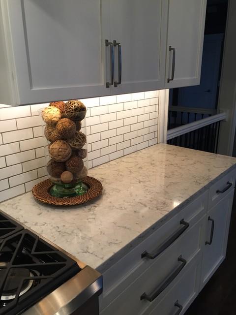 3cm Viatera Quartz Rococo Modern Kitchen