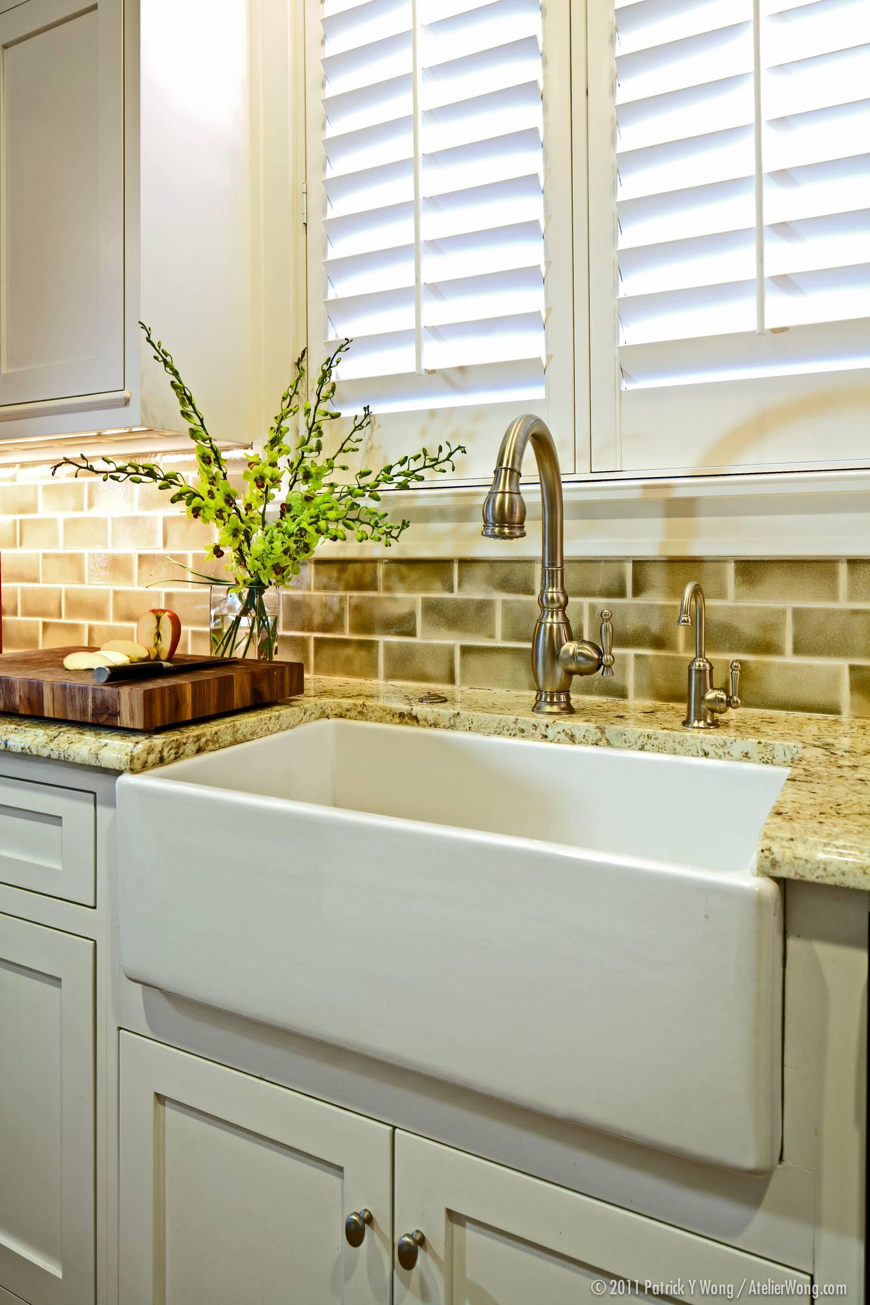 Over Sink Window Treatment Houzz