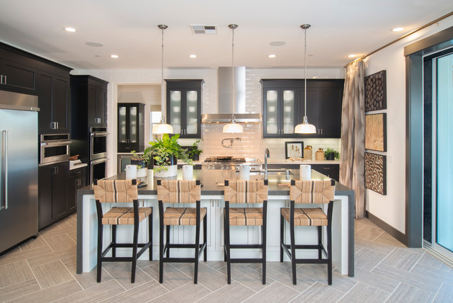 414 Toll Brothers Carmela Lot 144 San Ramon 20377 Transitional Kitchen San Francisco By Precision Cabinets