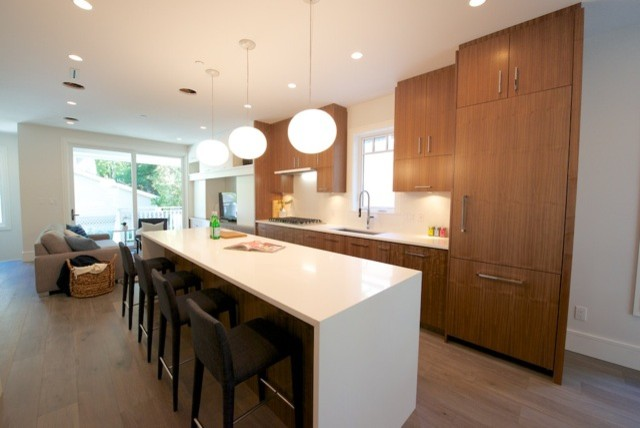431 w 14th ave modern kitchen vancouver by nrt for 14th avenue salon