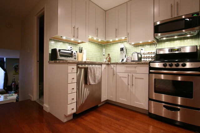 435 East 86th Street transitional-kitchen