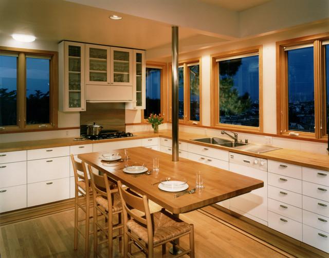 450 architects - Larsen/Peterlin Residence contemporary-kitchen
