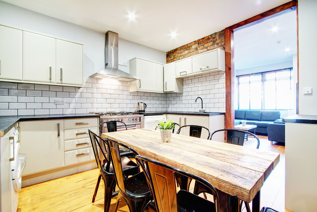 Clapham refurb transitional kitchen london best free home design idea inspiration Kitchen design courses in london