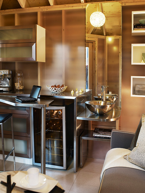 5 Small Spaces contemporary-kitchen