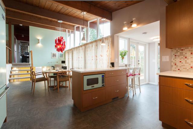 50 39 s classic west coast modern modern kitchen vancouver by kenorah design build ltd. Black Bedroom Furniture Sets. Home Design Ideas