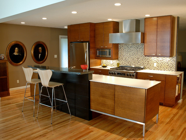 50's Re-Do - modern - kitchen - portland - by William Roy Designer