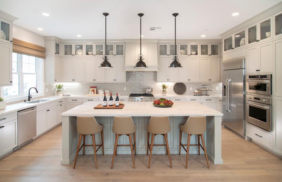 504 Shea Homes Victory Lot 13 San Mateo 20572 Transitional Kitchen San Francisco By Precision Cabinets