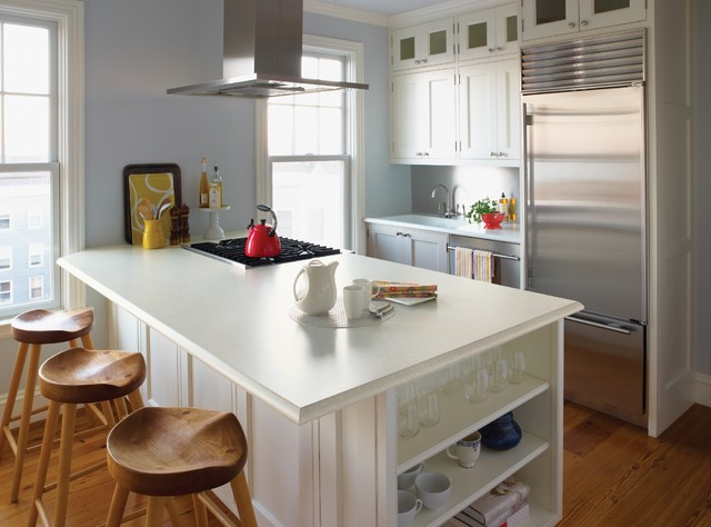 White Laminate Kitchen Countertops kitchen counters: plastic laminate offers options aplenty