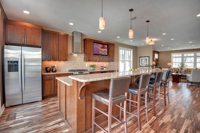 53rd & Drew Ave - Minneapolis Fulton Neighborhood transitional-kitchen