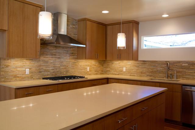 Trendy kitchen photo in Austin