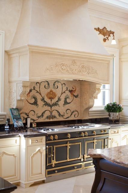 55 000 La Cornue 24k Gold Plated French Oven