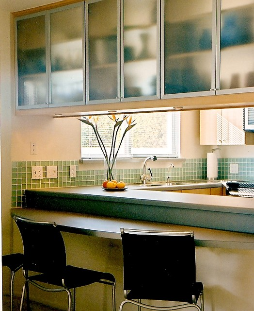 55+ Community contemporary-kitchen