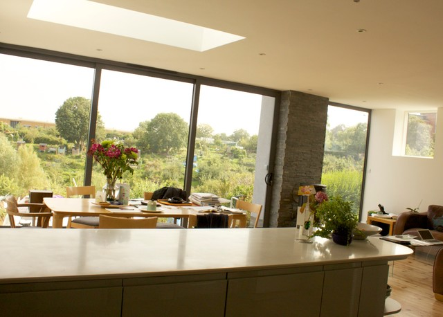 55mr extensions remodelling and refurbishment of 1930s for Modern kitchen in 1930s house