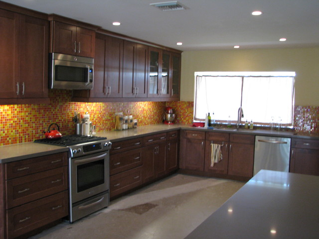 60s Sixtys Ranch Home Kitchen Remodel modern kitchen