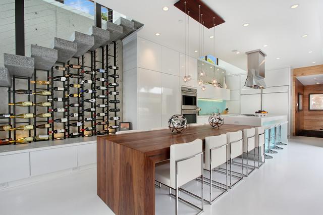 604 Acacia - Brandon Architects - Patterson Construction  http://www.brandonarch contemporary-kitchen