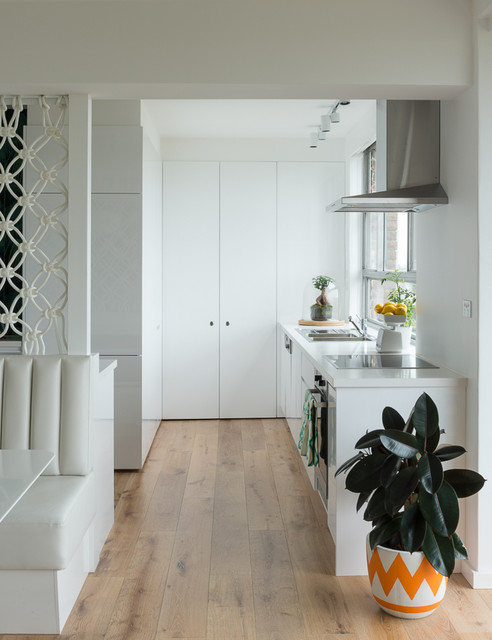 60s Inspired Apartment contemporary-kitchen
