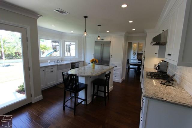 61 - Laguna Niguel Kitchen & Bar Remodel with brand new cabinets transitional-kitchen