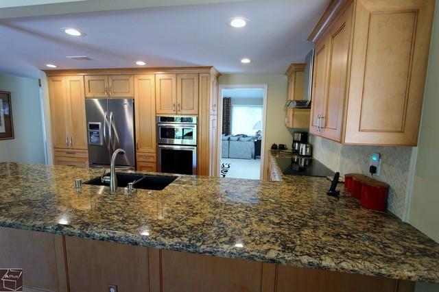 62 - Anaheim Hills Kitchen remodel transitional-kitchen