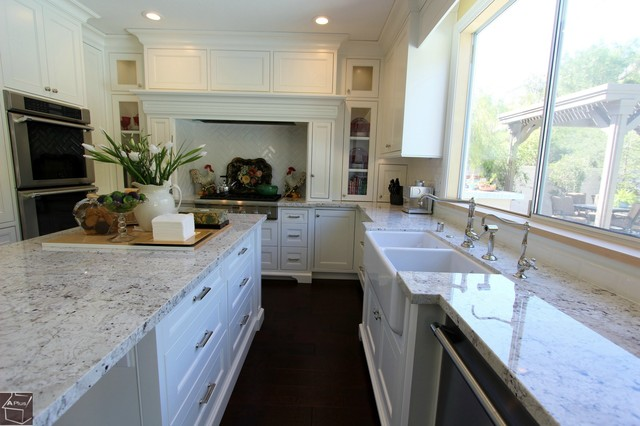 63 - Aliso Viejo Kitchen remodel with brand new dry bar & custom cabinets transitional-kitchen