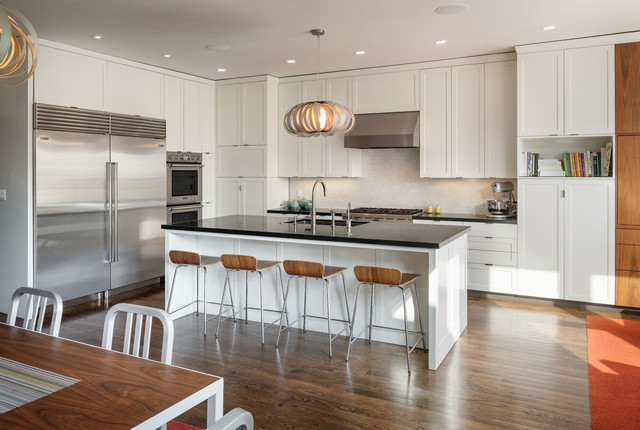 6th Avenue Contemporary Kitchen San Francisco By