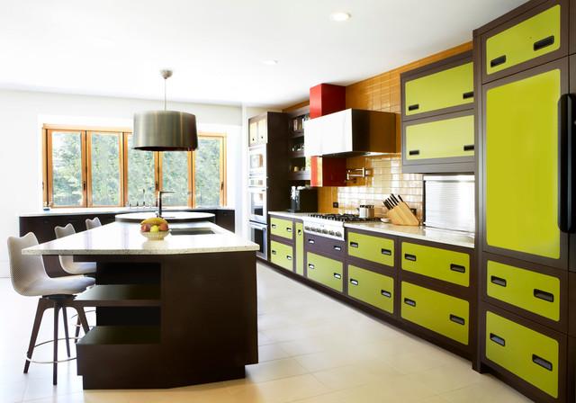 70's inspired kitchen