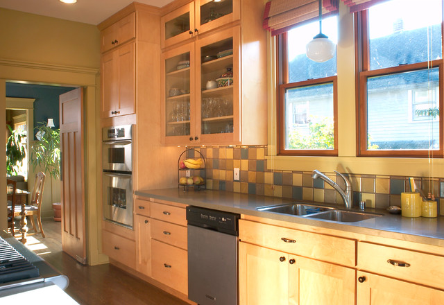 7015 1st Avenue Nw Traditional Kitchen Seattle By Emily Lauderback Design And Color