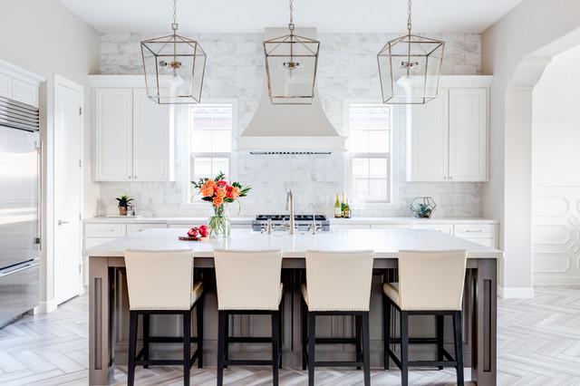 72nd Way Transitional Kitchen Phoenix By J J Design Group Llc