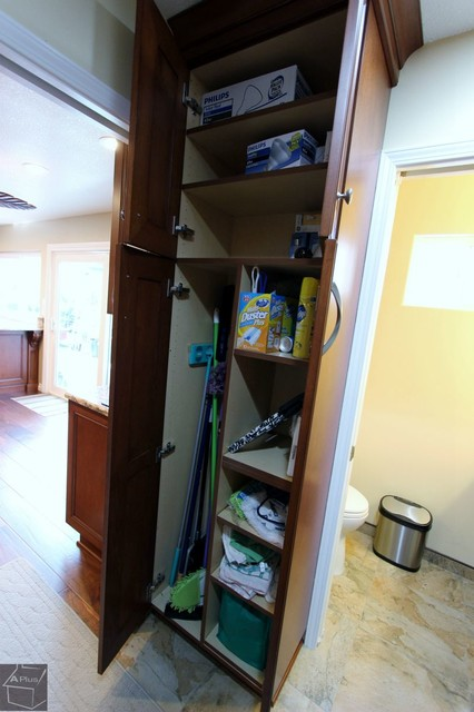 ... Kitchen Remodel With Brand new Custom Cabinets contemporary-kitchen