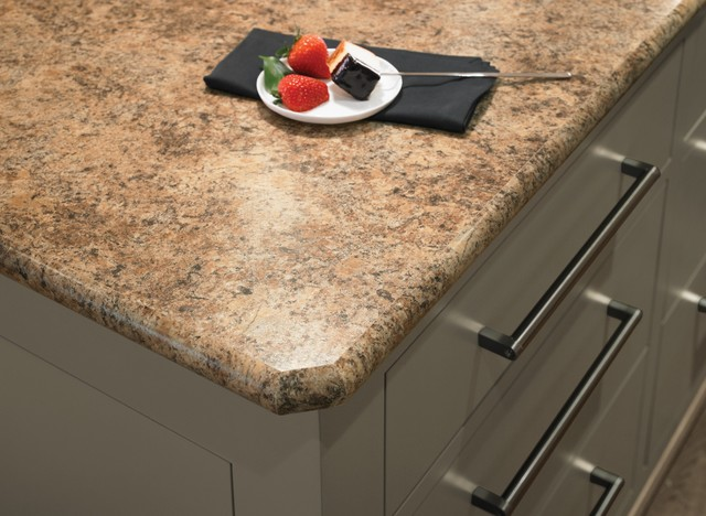 7732 butterum granite formica® laminate with bullnose idealedge